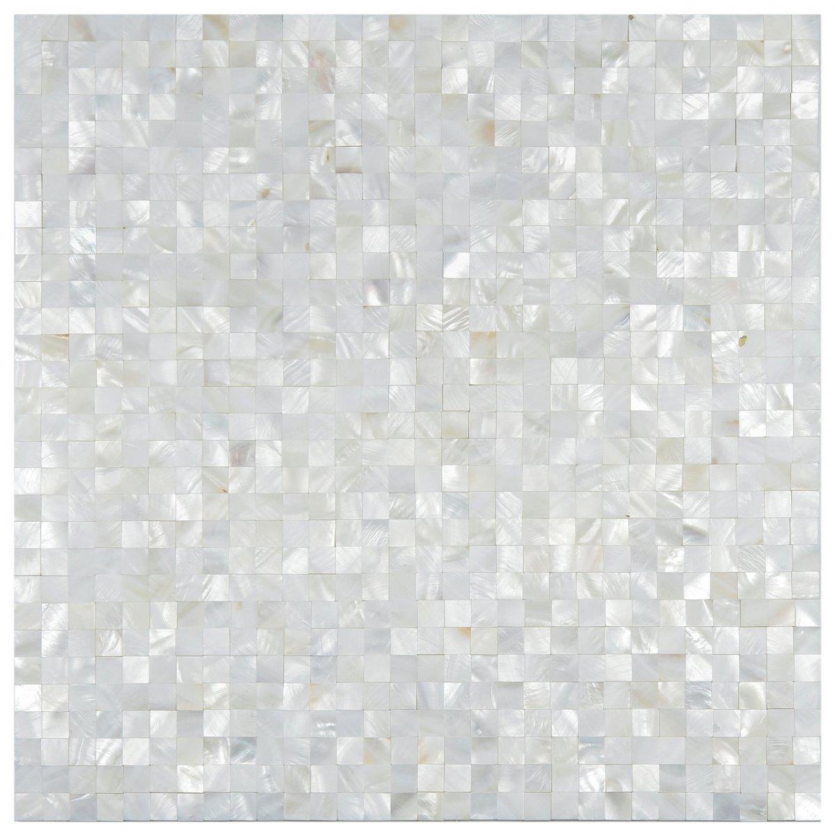 Revestimentos da Linha madrepérola da Glass Mosaic #776D54 1200x1200 Banheiro Com Pastilha Madreperola